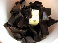 Čokolado in maslo ...