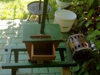 Škatla mlinčka -- druga tastova posodobitev je dozirna posodica, da se mlinček ne zatika.
