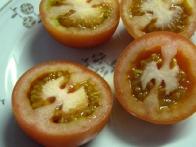 Prerezana paradižnika.