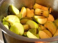 Narezana jabolka ...