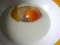 Jajce in mleko ...