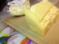 Količina sira, ki sem jo uporabila.