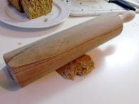 Takole pa valjamo rezine ovsenega kruha.