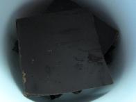 Čokolada pred topljenjem.