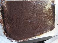 S čokolado prekrita plast opere.