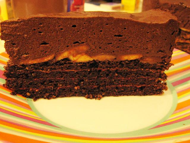 Popolna čokoladna torta