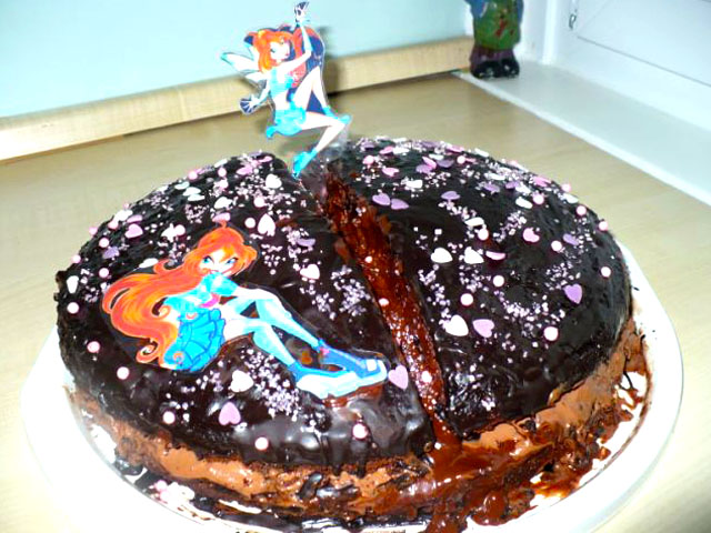 Alenkina čokoladna torta