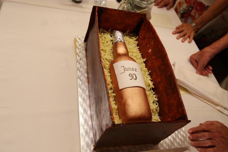 Torta za 90-letnika.