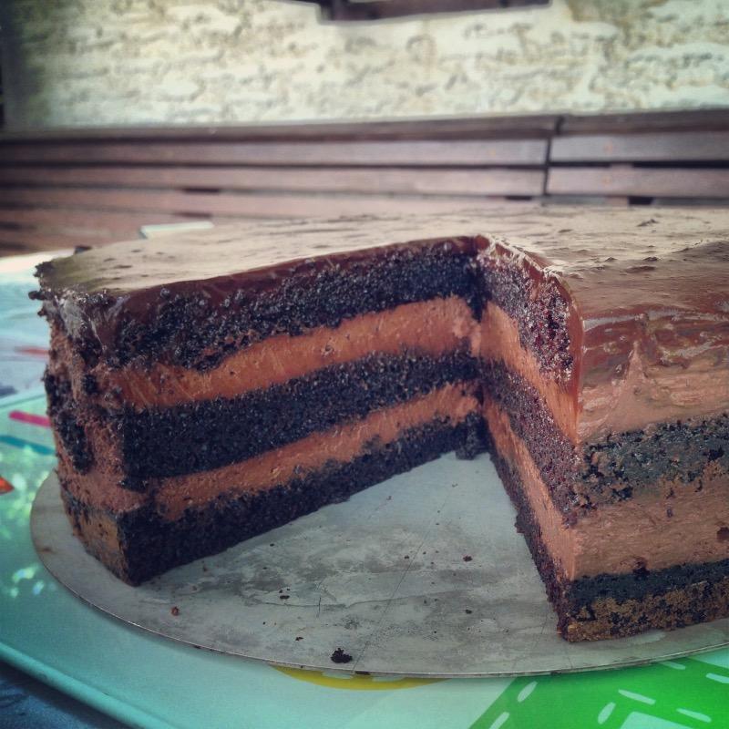 Čokoladno-čokoladna