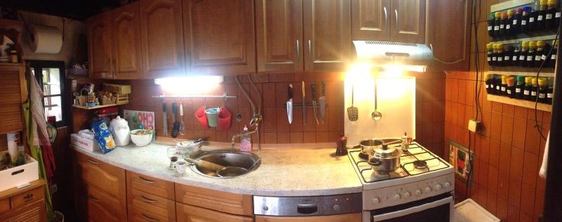 Moja kuhinja. :)